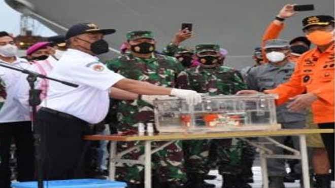 Black Box Pesawat Sriwijaya SJ-182 Diserahkan Ke KNKT