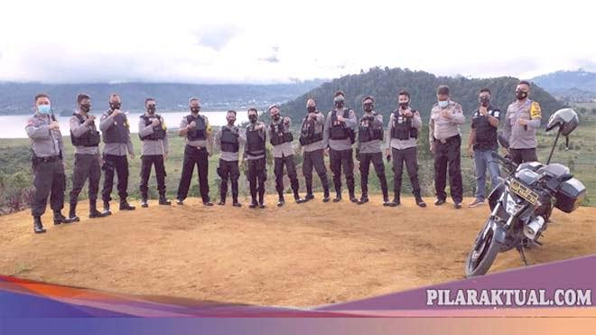 Pantau Situasi Kamtibmas, Kapolres Norman Sitindaon Pimpin Patroli Bermotor Jarak Jauh