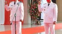 Franky Donny Wongkar dan Pdt. Petra Yani Rembang Sah Bupati dan Wakil Bupati Minsel Periode 2021-2024