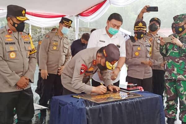 Kapolda Sulawesi Utara Resmikan Gedung Presisi Polres Minut