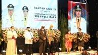 Kepemimpinan Kedua ODSK2P, Pemprov Sulut Gelar Acara Syukur