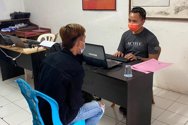 Polsek Airmadidi Amankan Tersangka Penganiayaan di Kawangkoan Baru