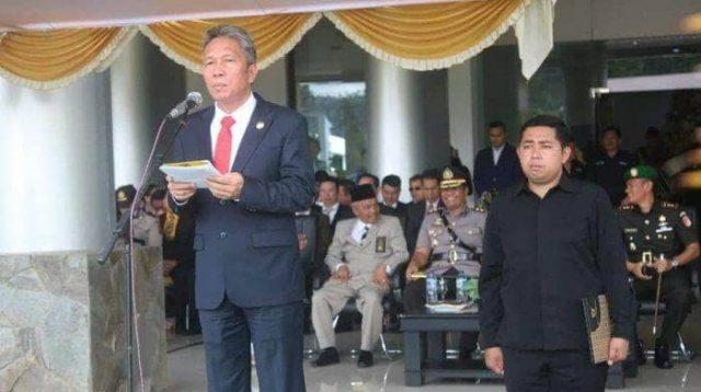 Bupati Franky Donny Wongkar Tegaskan ASN Pemkab Minsel Harus Disiplin Waktu