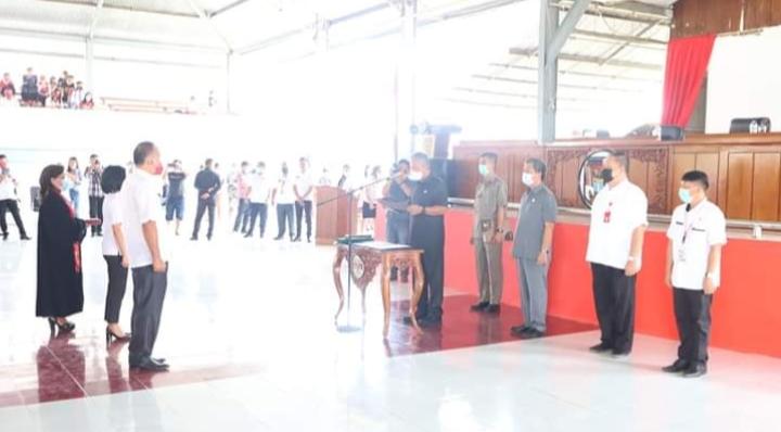 Bupati Minsel Serahkan SK PPPK Kepada 38 Yang Lolos Seleksi