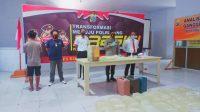 Polres Boltim Amankan 316 Liter Miras Jenis Cap Tikus di Tutuyan