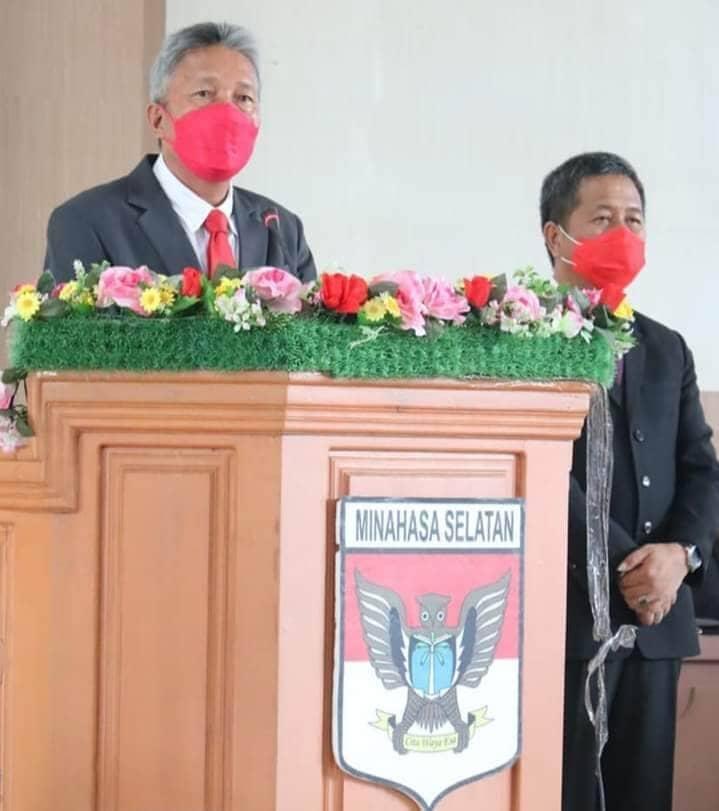 Paripurna Mendengarkan Pidato Bupati, Franky Donny Wongkar Kesejateran Minsel Tanggung Jawab Kita Semua