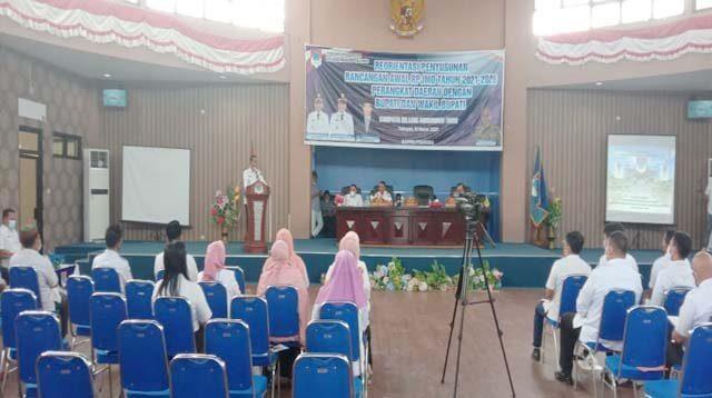 Pimpin Penyusunan RPJMD, Bupati Boltim Singgung Wajah Ibukota Kabupaten