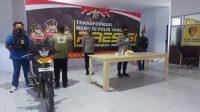 Polres Boltim Amankan Tersangka Residivis Curanmor Asal Lolayan