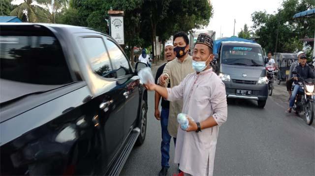 Aksi Berbagi Takjil GPII Diapresiasi Anggota DPRD Batu Bara