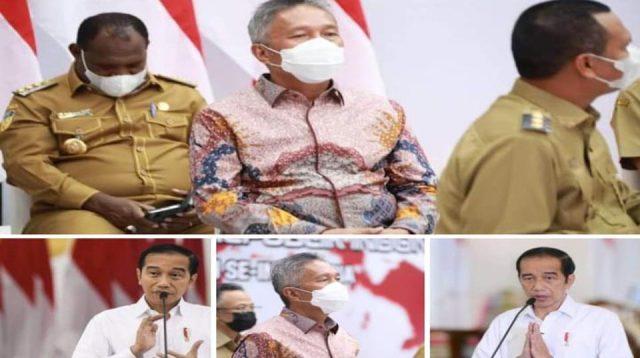 Bupati Franky Donny Wongkar Ikuti Pengarahan Presiden Jokowi Secara Virtual