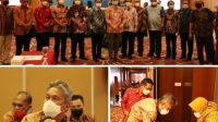 Bupati Minsel Hadiri Rakor Pengembangan SGR Wilayah Sulut Gorontalo Maluku dan Maluku Utara