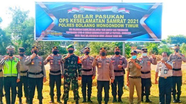 Kapolres Irham Halid Pimpin Apel Pasukan Ops Keselamatan Samrat 2021