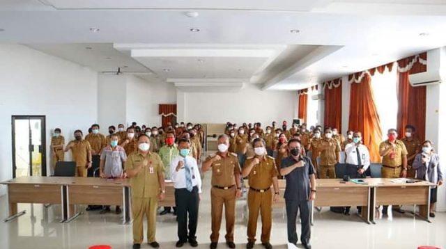 Penandatanganan Piagam Pengawasan Internal, Bupati Minsel: Inspektorat Daerah Miliki Peran Penting Mengawal Pemerintahan