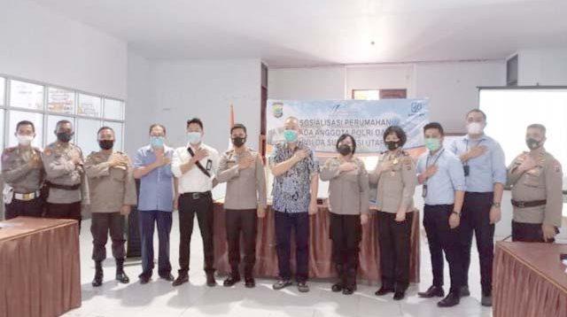 Program Prioritas Kapolri, 30 Anggota Polres Boltim Bakal Miliki Hunian Tetap