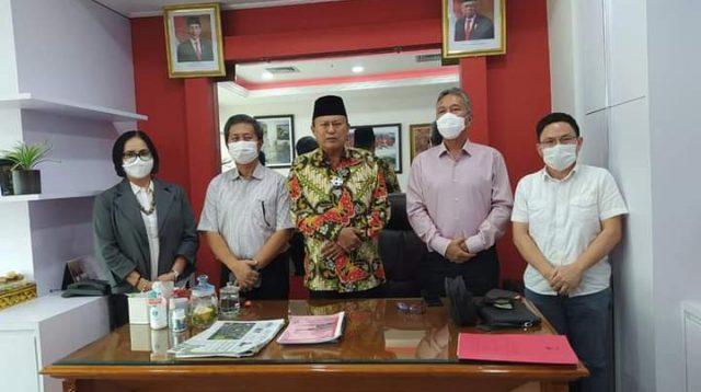 Sambangi Komisi IV DPR RI, Bupati Franky Donny Wongkar Usulkan Pembangunan Infrastruktur di Minsel