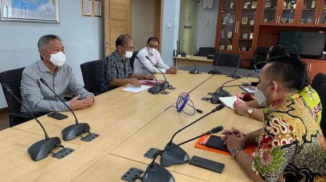 Bupati Minsel Lakukan Kunjungan Kerja di Kementerian Perdagangan RI