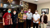 Bupati dan Wakil Bupati Minsel Lakukan Kunker di Kementerian PUPR