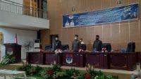 DPRD Boltim Gelar Rapat Paripurna Penetapan Ranperda