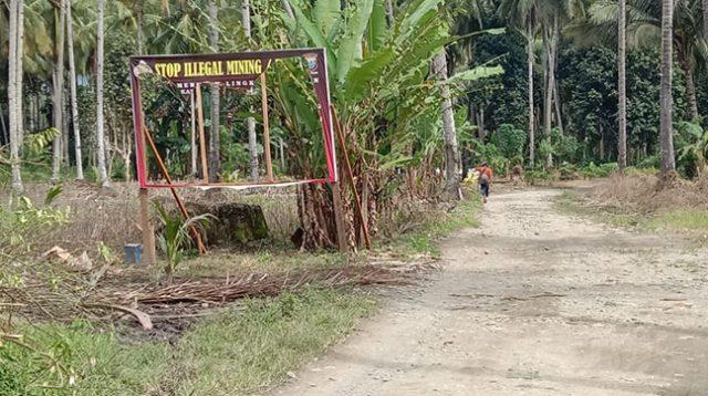 Baliho Imbauan Polres Boltim Dirusak OTK