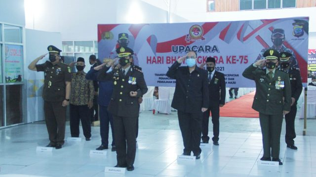 Polres Boltim Peringati HUT ke-75 Bhayangkara