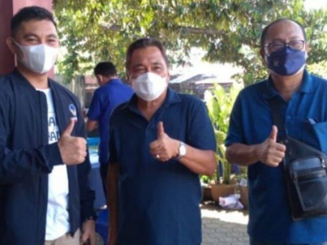 Vaksinasi Massal DPD Partai Nasdem Minsel di Apresiasi Masyarakat