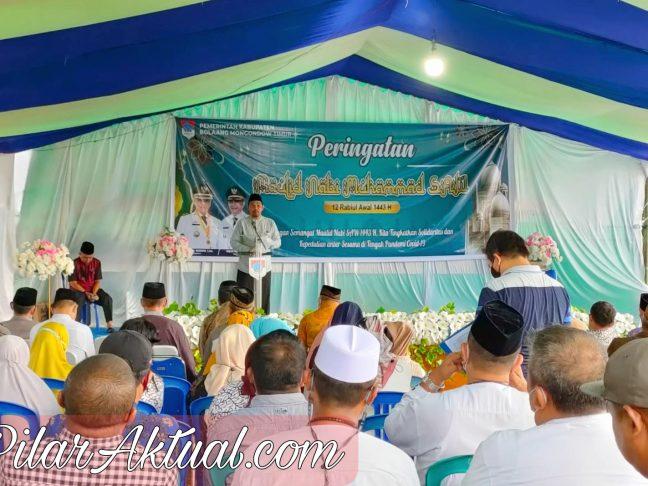 Pemkab Boltim Gelar Peringatan Maulid Nabi Muhammad SAW